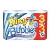 3 ply Thirsty Bubbles Kitchen Towel Roll