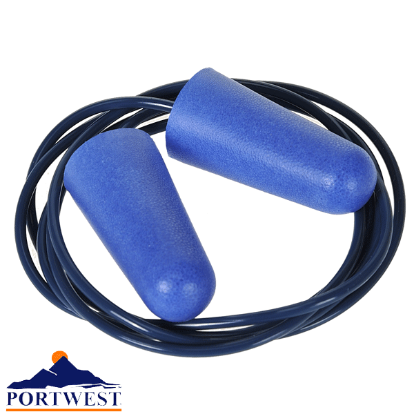 ep30 food detectable pu foam ear plug 2153