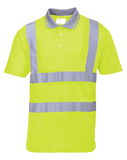S477 - Hi Vis Short Sleeve Polo Shirt