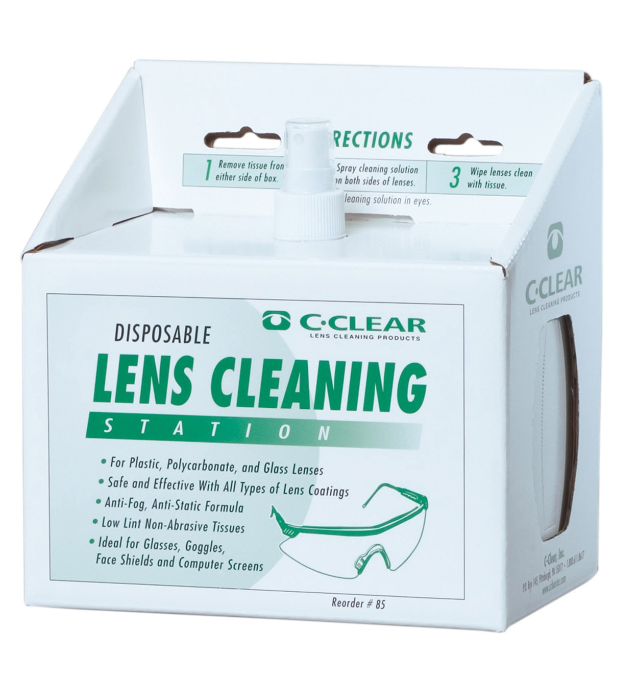 pa02 lens cleaning station 2056