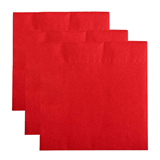 Red 40cm 2Ply Napkins