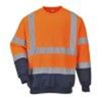 b306 two tone hi vis sweatshirt portwest colour yellow size 3xl [3] 1815 p