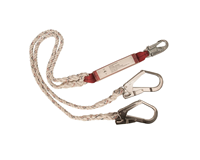 FP25 - Double Lanyard With Shock Absorber