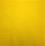Yellow 40cm 2ply Napkins