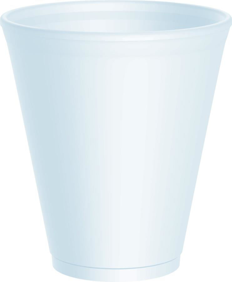da12lx12 12oz poly foam cup 1502