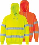 B304 - Hi Vis Hooded Sweatshirt