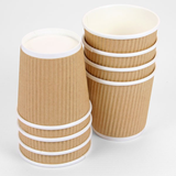 Brown Ripple Cup