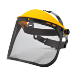 PW93 - Browguard with Mesh Visor