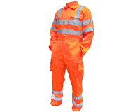 RT42 - Hi Vis Poly-cotton Coverall GO/RT