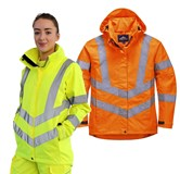 LW70 - Ladies Hi-Vis Breathable Jacket - Portwest