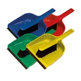 Colour Coded Dust Pan and Brush Set
