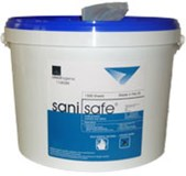 Wipes - Sanisafe Virucidal and Bactericidal Wipes x 500