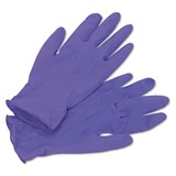 Purple Nitrile Gloves CE x 100